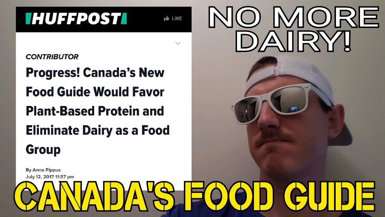 canada food guide dairy industry
