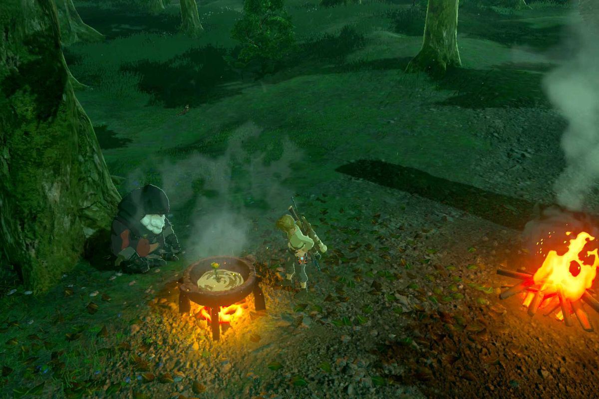 cooking guide breath of the wild