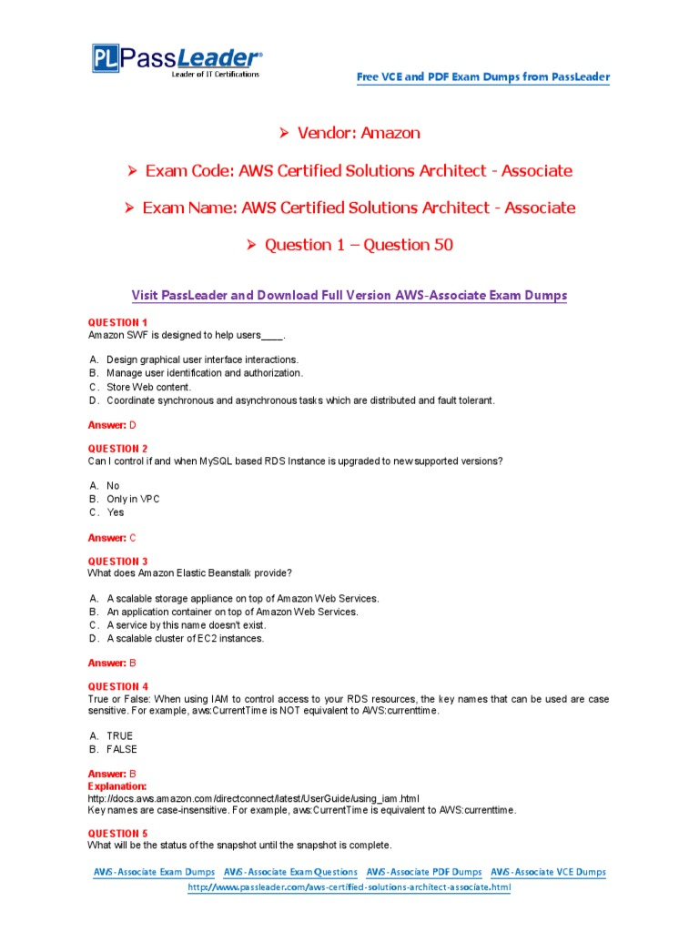 aws certified solutions architect professional study guide pdf