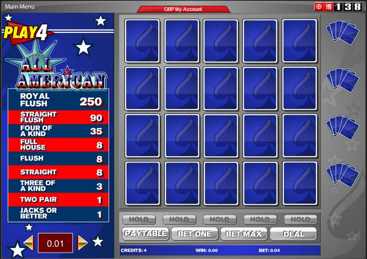 american casino guide video poker