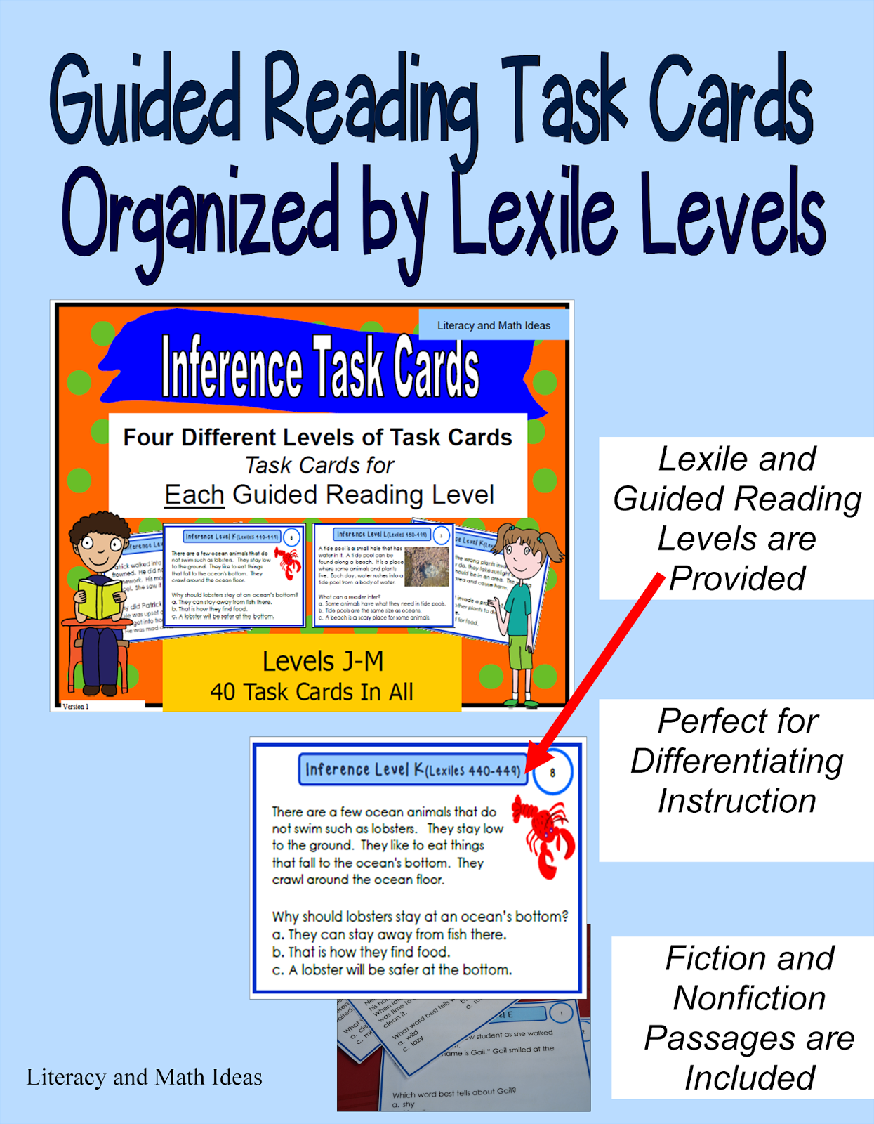 lexile level compared to guided reading level