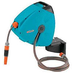 gardena wall mounted hose reel and hose guide
