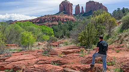 self guided driving tour sedona az