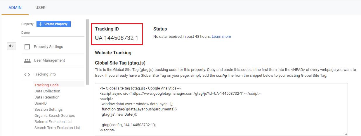 google analytics ecommerce developer reference guide