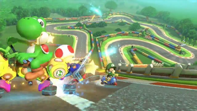 mario kart 8 track guide