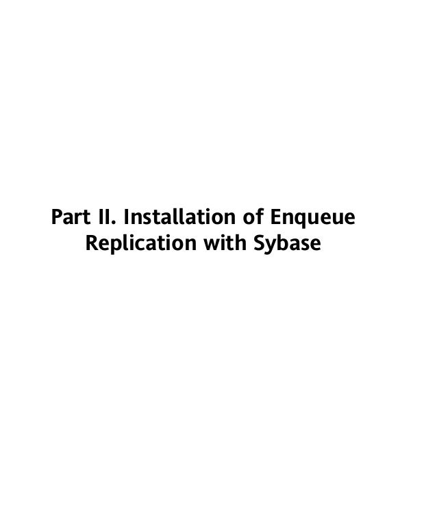 sybase ase 16 installation guide linux